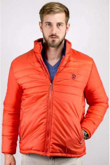 "Doudoune orange homme ""PURE"""