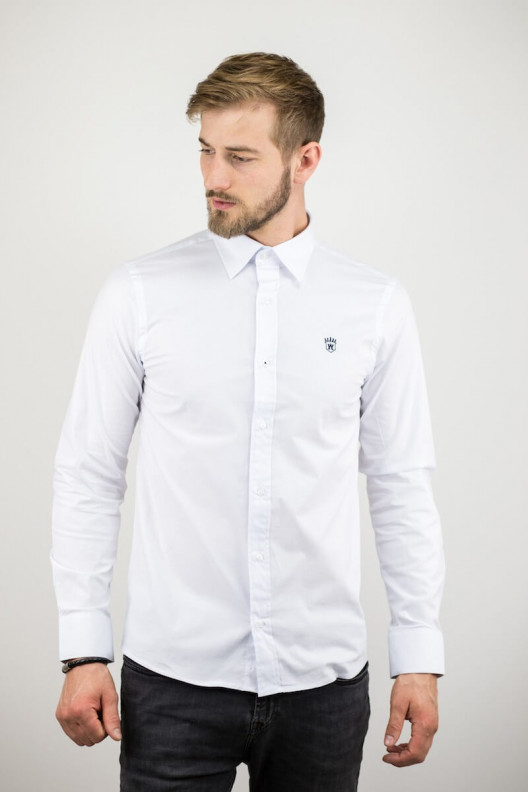 "Chemise homme blanche ""CLASSIC"""