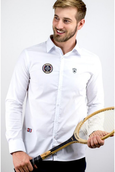 "Chemise blanche ""COURCH"""