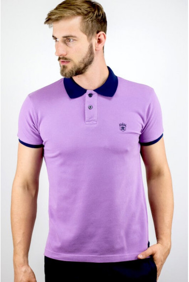 "Polo tendance iris ""ALLOVER"""